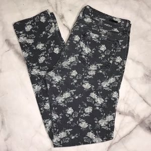 💥 Kut from the Kloth Diana floral skinny jeans